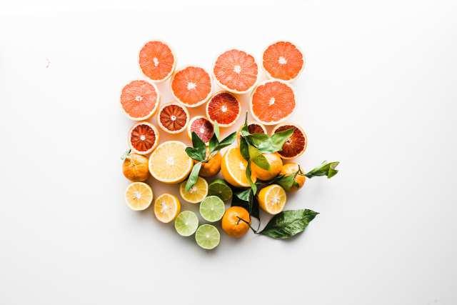 柑橘フルーツの画像