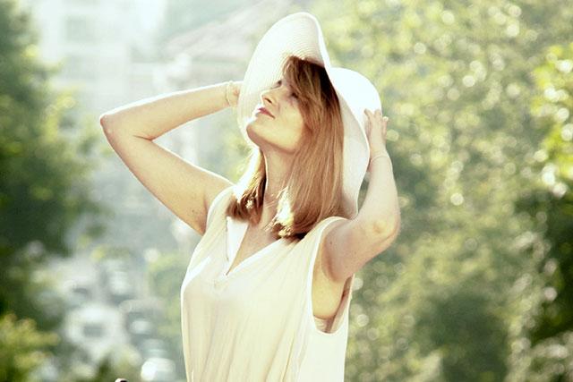 洗濯できるものは定期的にしたり汗のついた部分は拭く!
