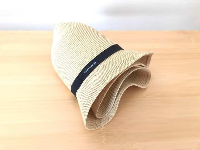 折り畳める帽子